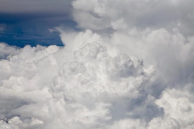 Shop houzz magic murals llc thunderstorm cloud develops for Cloud mural wallpaper