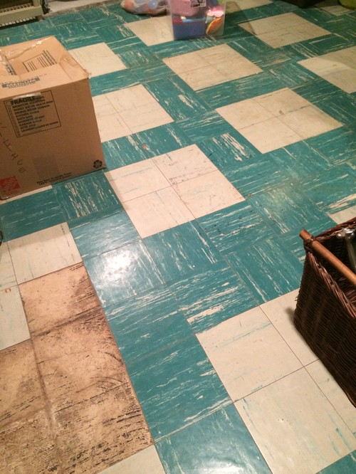 Asbestos tile floor in basement ppazfo