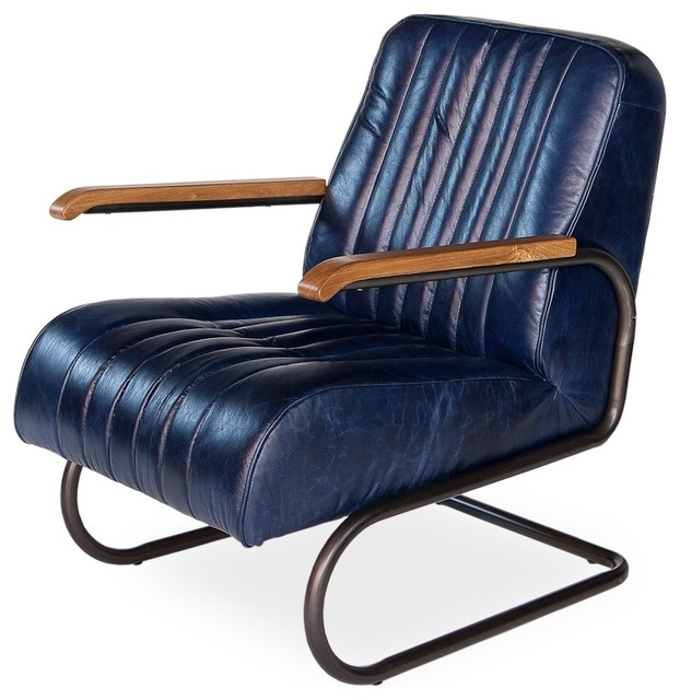 Bel Air Arm Chair Navy Armchairs And Accent Chairs By