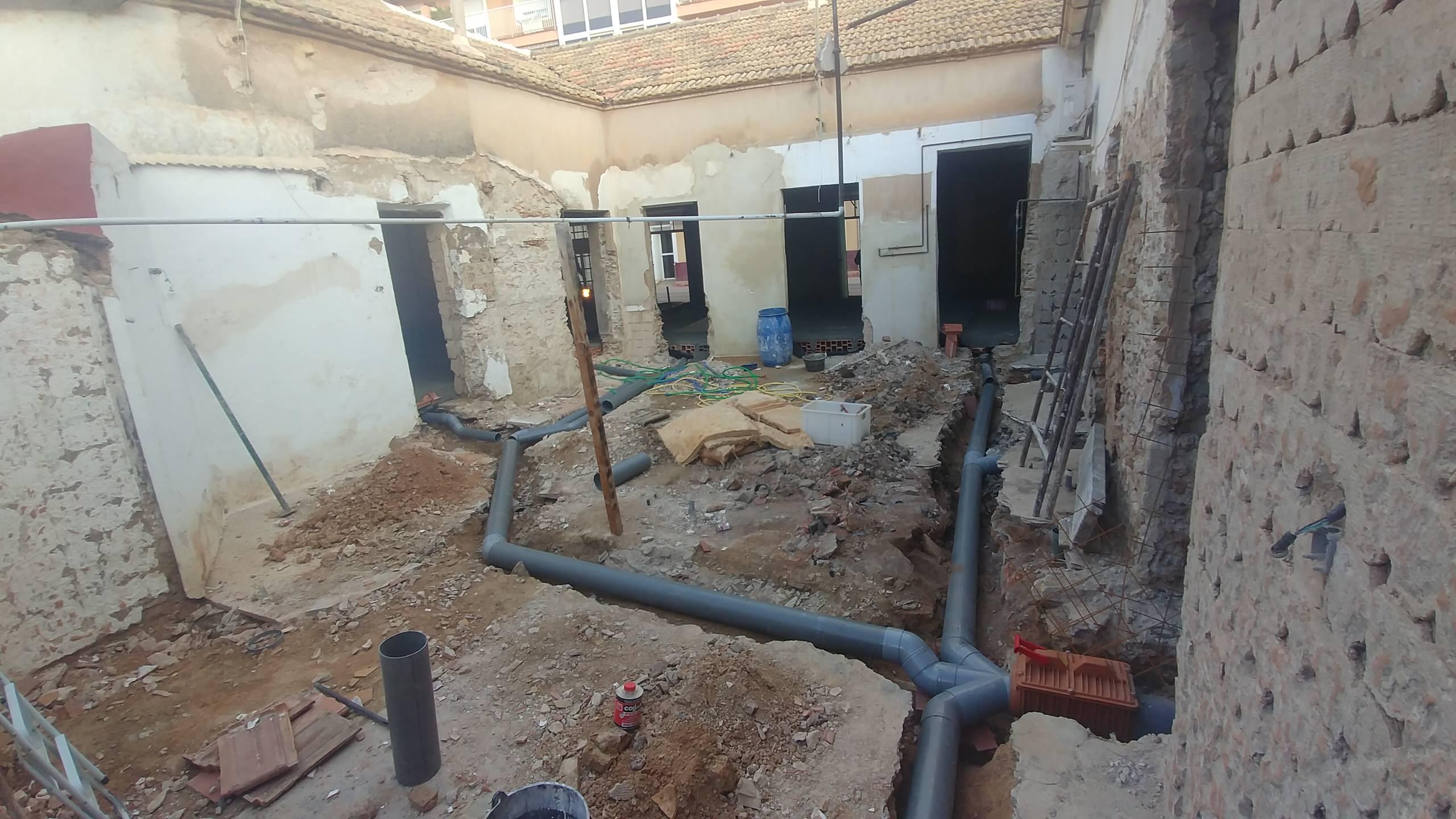 Rehabilitación de cuatro viviendas en Los Alcázares