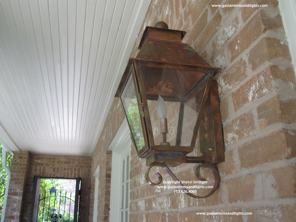 Sheryl's Veronica Electric Lantern with Single Candelabra