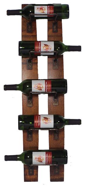 5-Bottle Wall Rack.