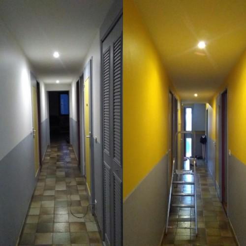 Couleur des portes du couloir - Porte de couloir ...