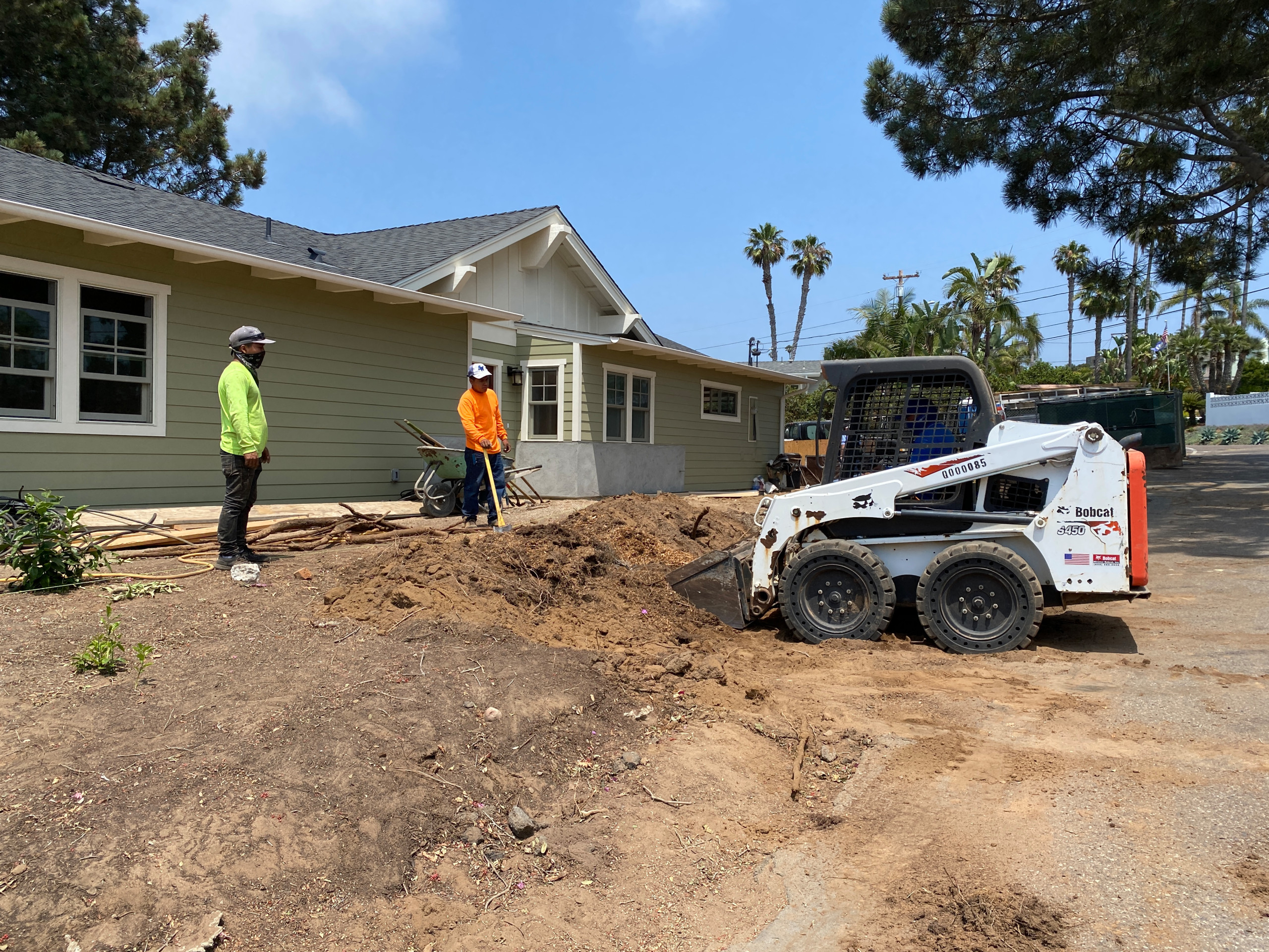 Excavating Unwanted Soil in Solana Beach