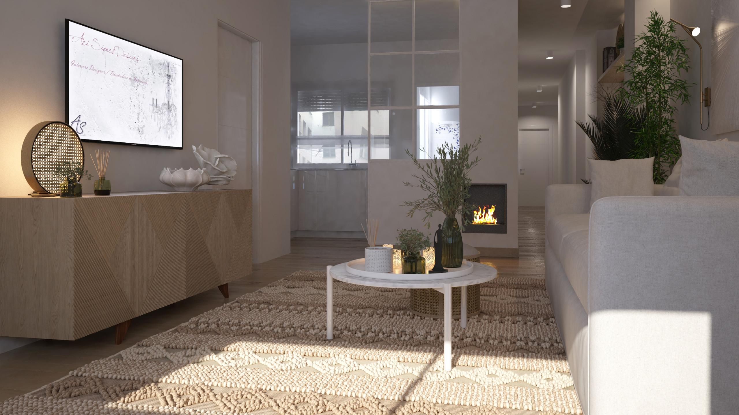 Nuevo proyecto para reforma Integral de apartamento-Moncada