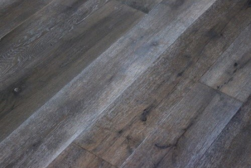 Oak 17 Mile Wire Brushed Hardwood Flooring 8 X6 Sample
