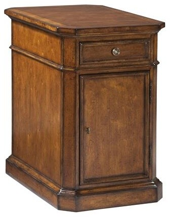 Hekman European Legacy Storage End Table Traditional