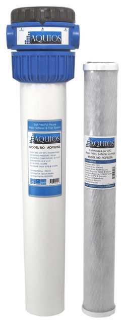 Aquios Salt Free Water Softener And Filter System With Voc