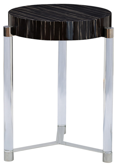 Port 68 Maxwell Accent Table, Black.
