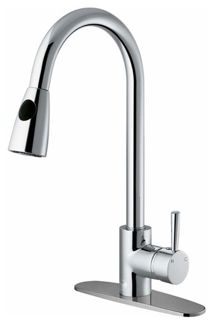 Vigo Vg02005k1 Kitchen Faucet One Handle.