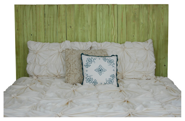 Brooks Headboard, Lime, Full.