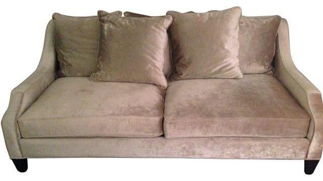 Houzz Chairish Z Gallerie Brighton Sofa Sofas
