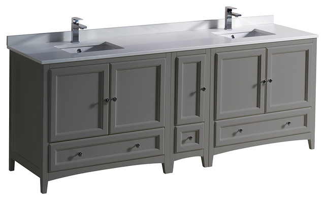 Double Sink Bathroom Cabinets