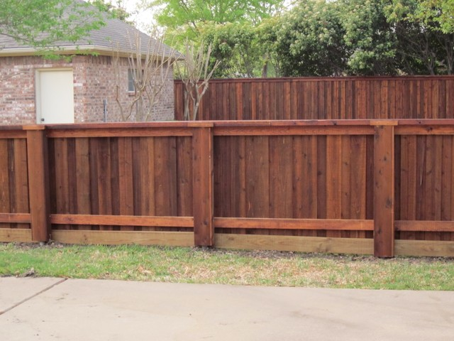 4 foot high board on board fence dallas by texas best for 4 foot fence ideas