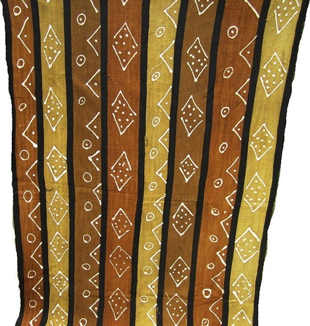 Mudcloth 13 Southwestern Upholstery Fabric By Ananse Village