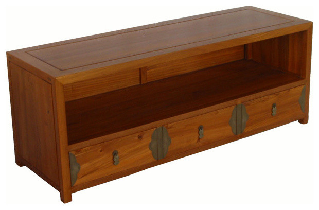 Low Entertainment Center - Asian - Entertainment Centers And Tv Stands - by DYAG - East