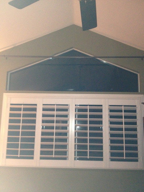 Trapezoid Window Treatment