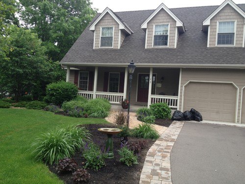 Cape cod house landscaping pictures
