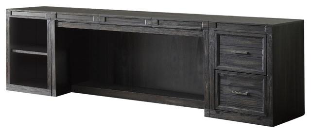 Parker House Hudson 3-Piece Desk, Black.
