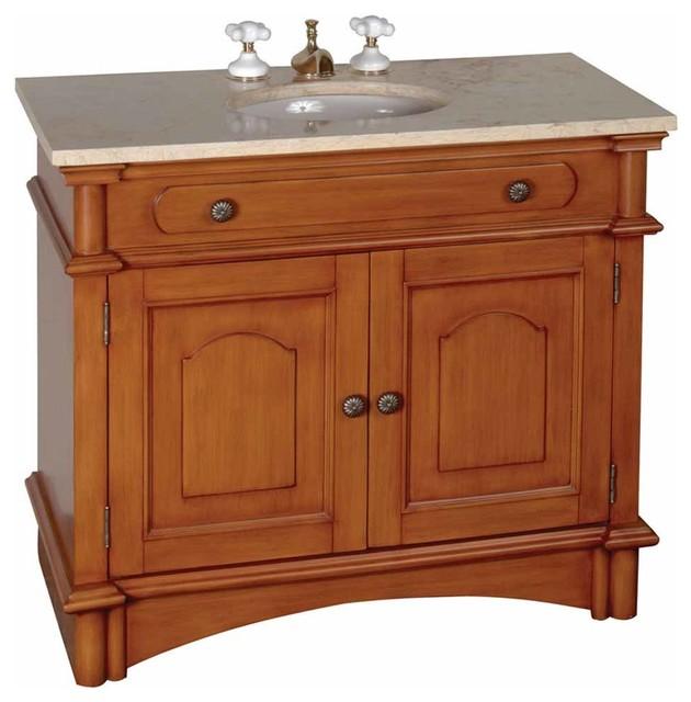 37 Bathroom Vanity Marble Sink Travertine Counterop