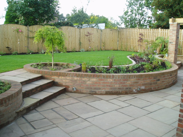 Split level garden contemporary landscape other by for Split level garden designs