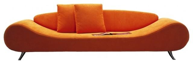 Harmony Sofa, Orange.