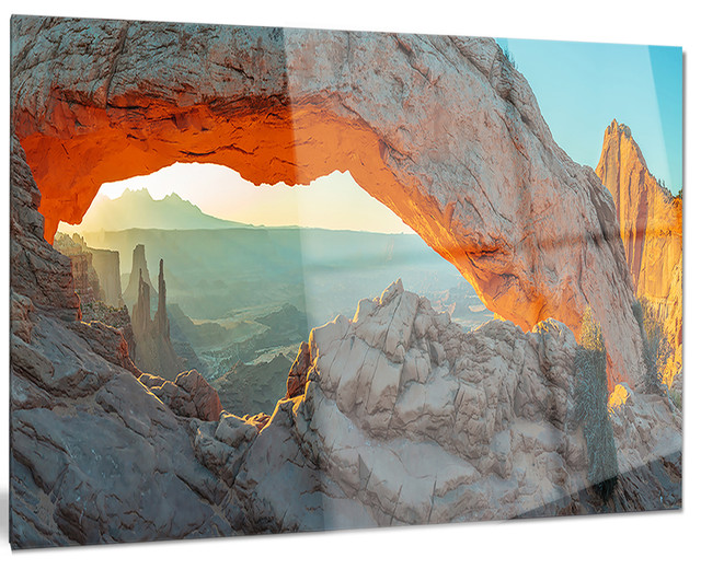 Quot Mesa Arch Canyon Lands Utah Park Quot Metal Wall Art