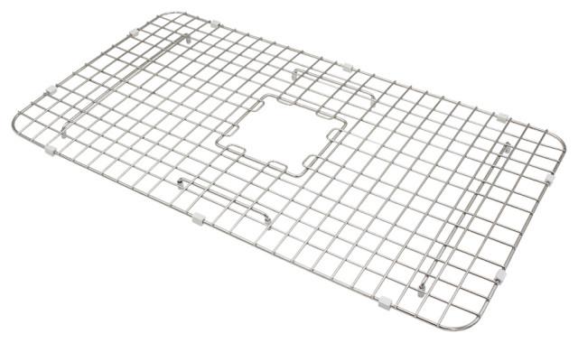 "SinkSense Wren 27"" x 15"" Bottom Grid for Kitchen Sinks, Stainless Steel"
