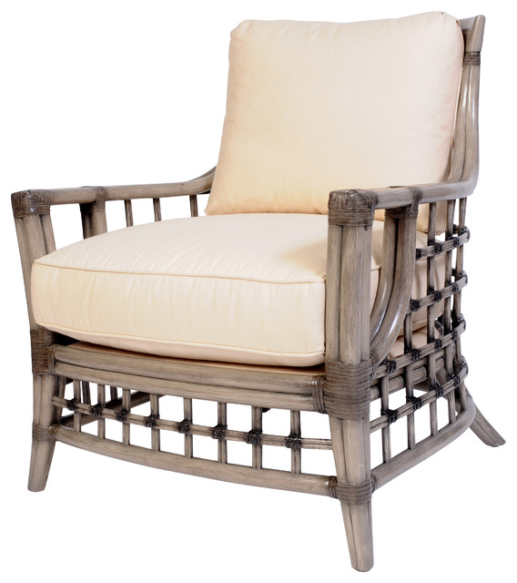 Somerset Lounge Chair, Alabaster