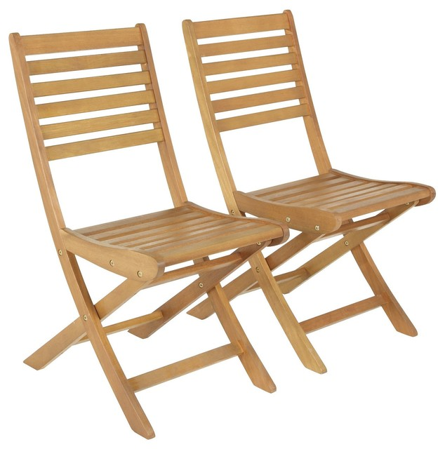 Aland Wooden Chairs Contemporary Folding Garden Chairs Other By B Q