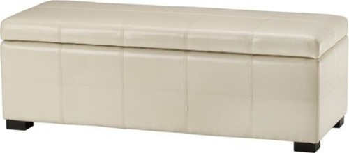 Madison Lg Storage Bench, CreMe