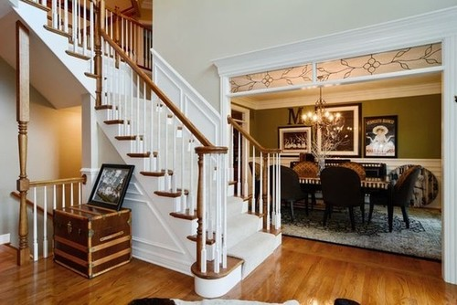Is there a trend to paint interior stained wood trim white?