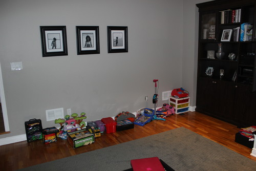 Family Room Toy/Game Storage