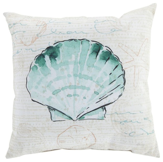 Beach Style Decorative Pillows : Contemporary Rain Decorative Pillow - Beach Style - Decorative Pillows - by RugPal