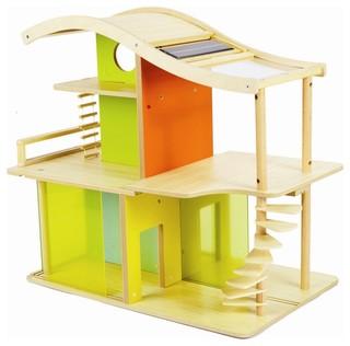 Hape Bamboo Sunshine Dollhouse contemporary kids toys