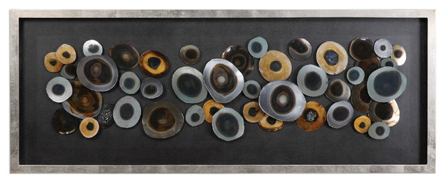 Uttermost Discs Silver Shadow Box.