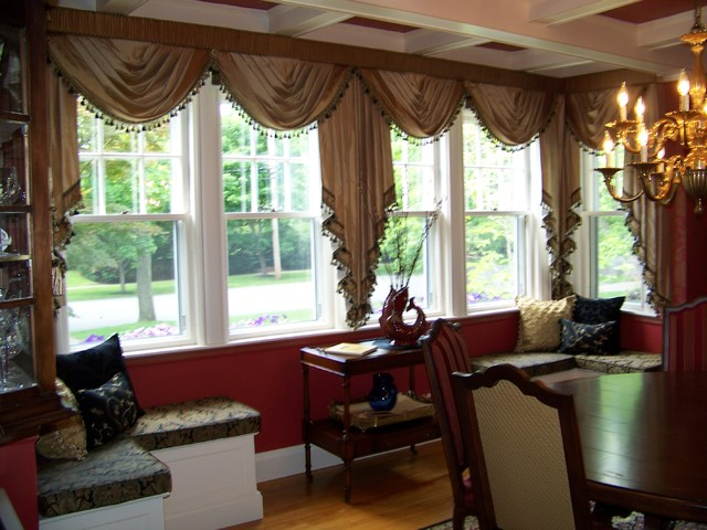 traditional living room curtains custom drapes by maison decor 13557