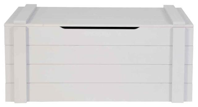 coffre jouets bois gris ludo couleur gris clair bord. Black Bedroom Furniture Sets. Home Design Ideas
