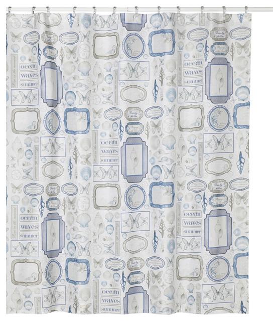 Seaside Shower Curtain