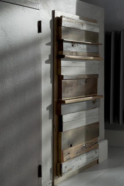 Cucina Legno di recupero e muratura - Shabby-Chic Style - Roma - di LaQuercia21