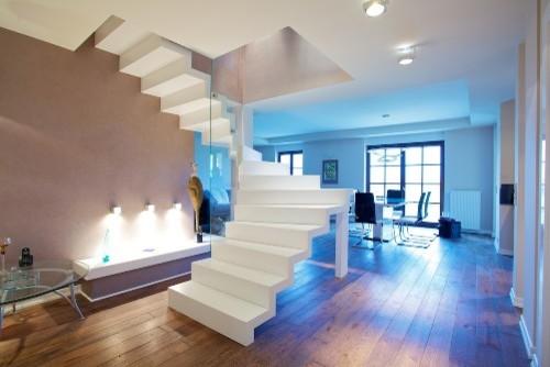 Faltwerktreppe lünen   modern   treppenhaus   sonstige   von ...
