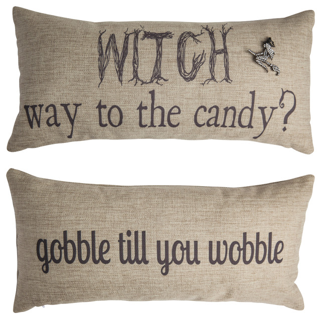 Halloween/Thanksgiving Double Sided Pillow