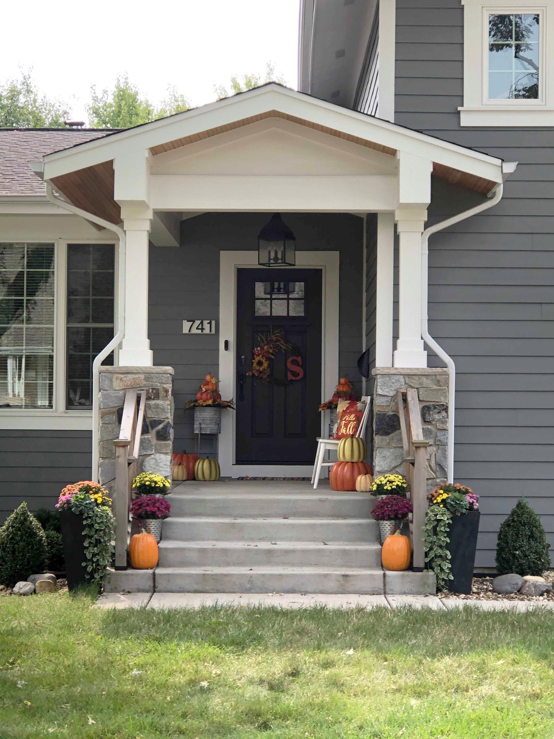 Split-Level Porch Addition