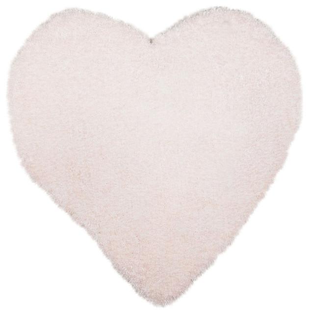 Tom Tailor Kids Rug, Heart, White, 100x100 cm