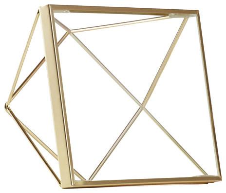 Umbra Prisma Photo Frame, Brass, 15x15 cm
