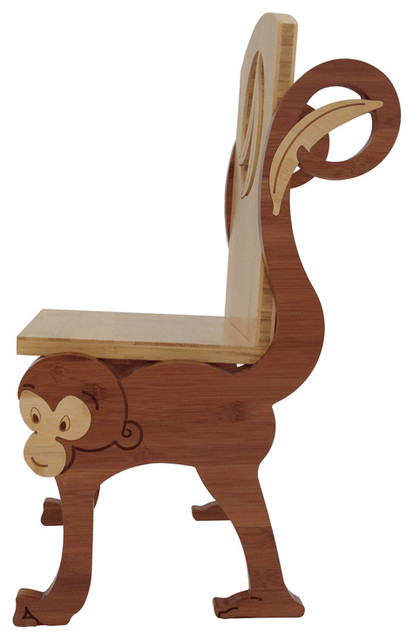 Monkey Chair Contemporary Kids Chairs By True To