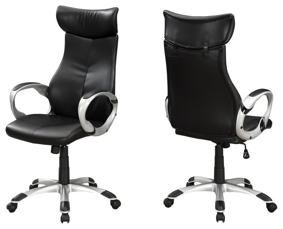 Executive Leather Look Office Chair
