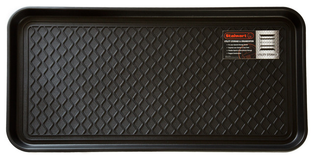 Stalwart Eco Friendly Utility Boot Tray Mat 30 X 15