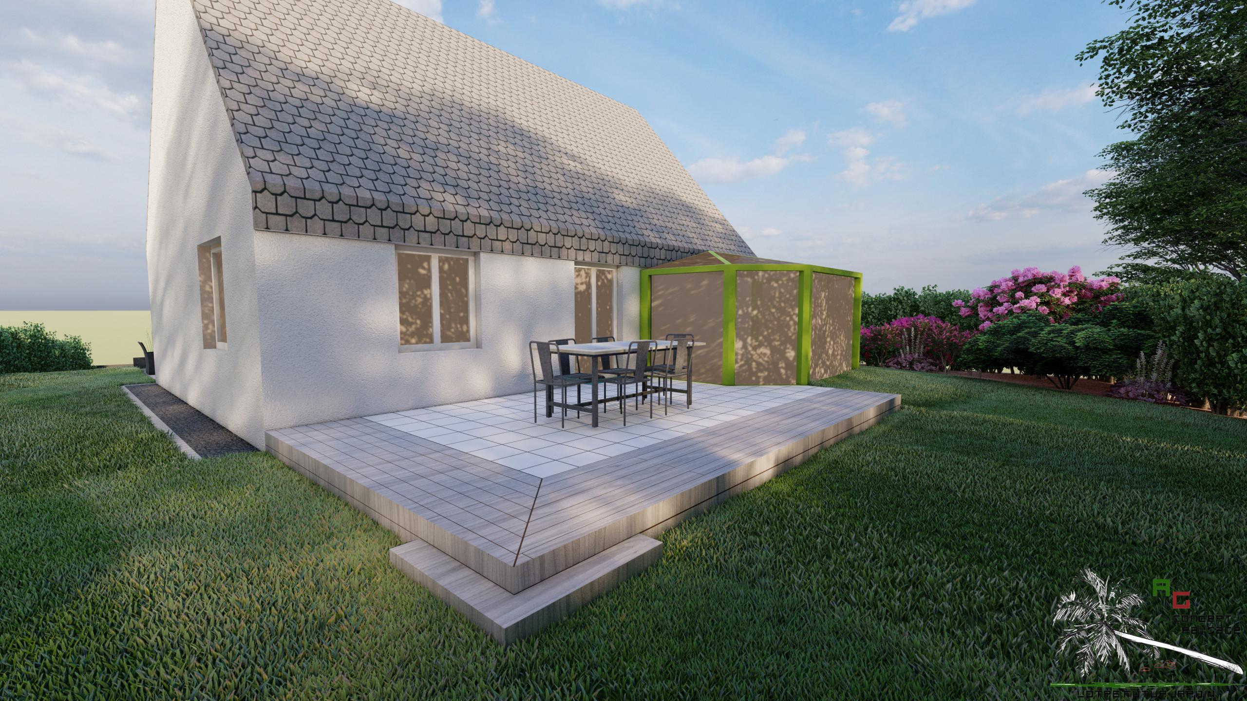 Aménagements de terrasses