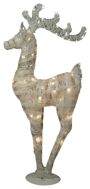 """36"""" Battery Operated LED Reindeer Christmas Decoration"""